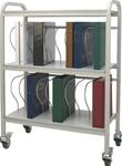 Winco Ring Binder Cart, 20 - 2' Binder Capacity