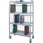 Winco Ring Binder Cart, 24 - 3' Binder Capacity