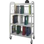 Winco Ring Binder Cart, 30 - 2' Binder Capacity