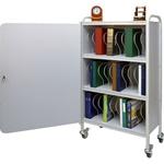 Winco Ring Binder Cart w/Lock, 30 - 2' Binder Capacity