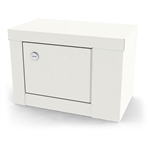 UMF Single Door, Single Lock Narcotic Cabinet