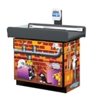 Clinton Theme Series 'Alley Cats & Dogs' Scale Table