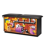 Clinton Theme Series 'Alley Cats' Treatment Table