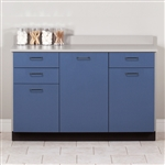 54' Base Cabinet with 3 Doors and 3 Drawers