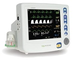 nGenuity 8100EP1 Patient Monitor w Printer