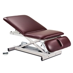 Clinton Bariatric Power Table with Adjustable Backrest & Drop Section