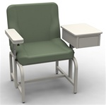 UMF Phlebotomy Chair w/ Storage Cabinet