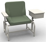 UMF Bariatric Phlebotomy Chair w/ Storage Cabinet
