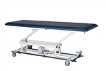 AM-BA 150 One-Section Treatment Table w/ Casters & Bar Activated Switch