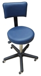 Bailey All Purpose Stool w/ 5 Legs and Adjustable Backrest