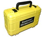 Deluxe Hard Yellow Carrying Case for Lifeline AED, AUTO