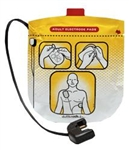 Defibtech Adult Defibrillation Pads Package for Lifeline VIEW, PRO, and ECG - 1 Pair