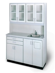 Hausmann Free-Standing Unit with Sink