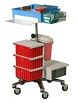 Mobile Phlebotomy Cart