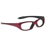 Techno-Aide Sure Guard Eyewear: Red