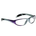 Techno-Aide Avant Guard Eyewear: Purple and Gray