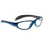 Techno-Aide Color Guard Eyewear: Blue