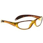 Techno-Aide Color Guard Eyewear: Orange