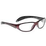 Techno-Aide Color Guard Eyewear: Red