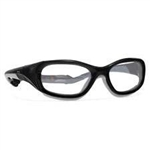 Techno-Aide Power Guard Eyewear: Black/Gray