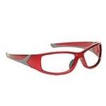 Techno-Aide Turbo Guard Eyewear: Red