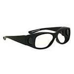 Techno-Aide Cover Guard Eyewear: Black