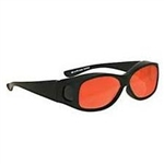 Techno-Aide Cover Guard Laser Argon Eyewear: Orange