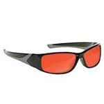 Techno-Aide Turbo Guard Laser Argon Eyewear: Orange