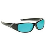 Techno-Aide Turbo Guard Laser Multi Eyewear: Light Blue
