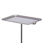 Clinton Stainless Steel Instrument Stand Replacement Trays