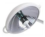 NUVO VistOR MS Dual Ceiling Mount, 2-16' Satellite Lights-120V