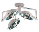 NUVO VistOR MS Triple Ceiling Mount, 3-20' Surgery Lights-120V