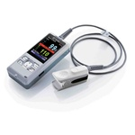 Mindray PM60 Pulse Oximeter with Lithium Ion Battery, Charging Stand and Adult Reusable Sensor