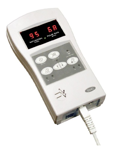 Hand-held Pulse Oximeter w/ Monitoring