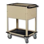 Techno-Aide Small Vet Organizational Cart - 2 Compartments