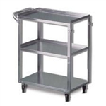 Techno-Aide Stainless Steel Utility Cart