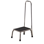 Clinton Stainless Steel Step Stool w/Hand Rail