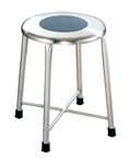 UMF Stainless Steel Fixed Position Stool