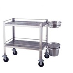 UMF Stainless Steel Dressing Cart (Knocked Down)