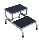 UMF 8370 Double Step Stainless Steel Foot Stool
