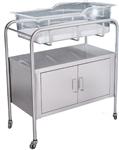 UMF Stainless Steel Bassinet, 2-Door