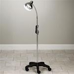 Clinton Value Gooseneck Lamp with 5-Leg, Mobile Base