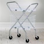 Chrome Folding Cart Frame
