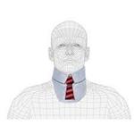 Techno-Aide Thyroid Fun Collar: Necktie