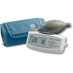 AnD LifeSource Digital Blood Pressure Monitors with LARGE Cuff, Mini Manual Inflate