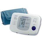 AnD LifeSource Digital Blood Pressure Monitors with LARGE Cuff, Talking Auto-Inflation