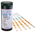 Accutest Urine Reagent Strips - 10 Parameter