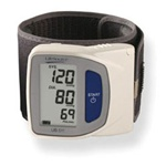 AnD LifeSource Digital Wrist Monitors. Travel Size Wrist Monitor: cuff size 5.3' - 8.5' (13.5 - 21.6 cm)