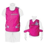 Techno-Aide Female Vest Wrap with Lightweight Lead