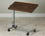 Clinton H-Base, Tilt-Top, Over-Bed Table
